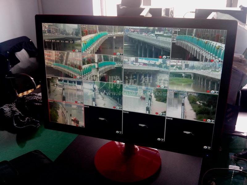 无线监控系统监控室