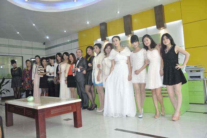 公司女性风采