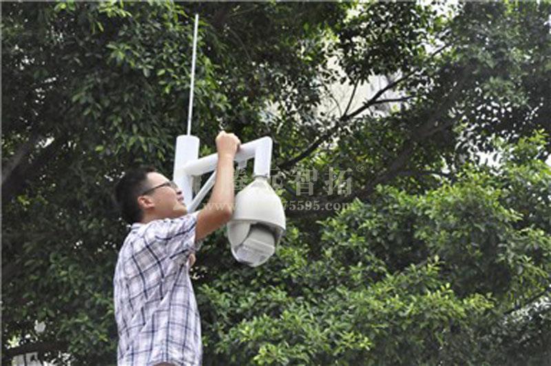 无线监控工程中安装无线监控设备