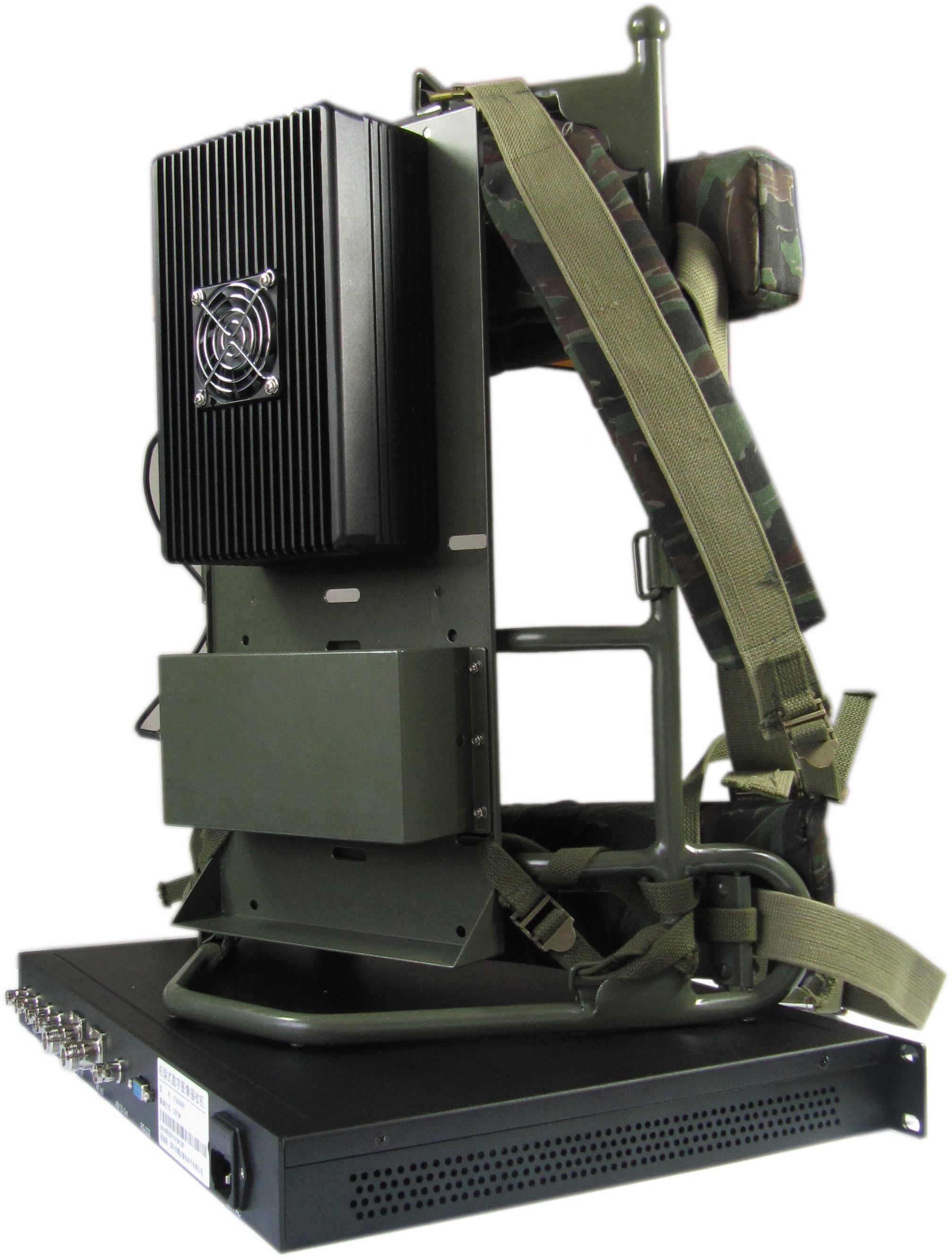 单兵无线图传设备的接收和发射端