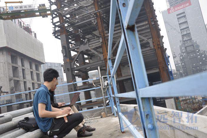 腾讯新总部大楼建设无线网桥监控工程