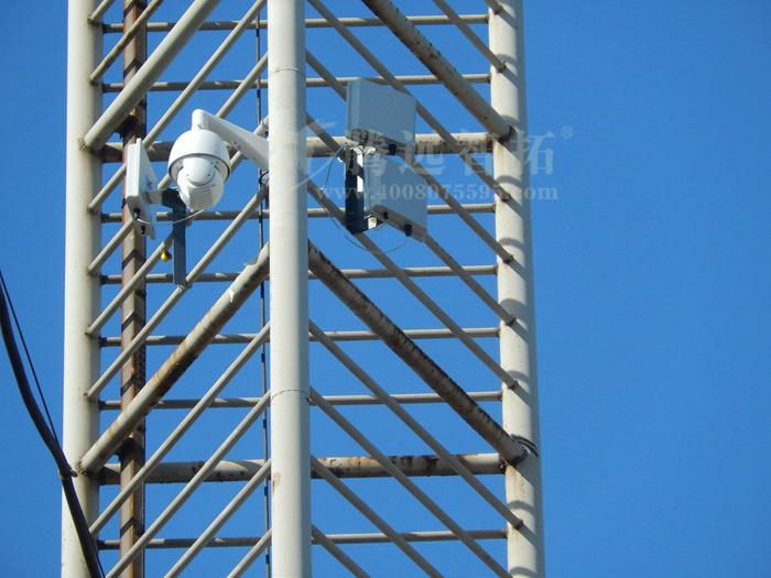 宝钢工厂建筑工地无线监控