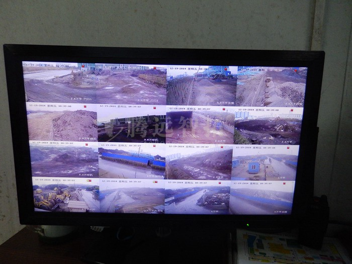 上海宝钢无线监控项目
