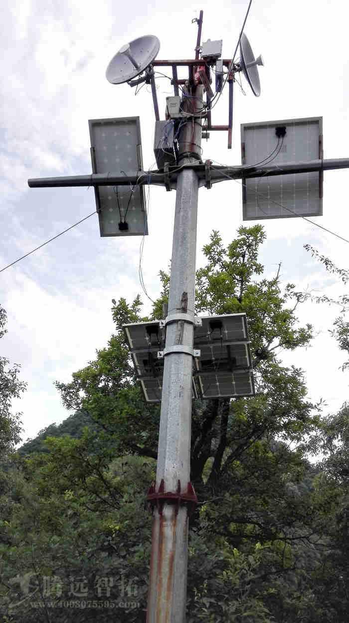 风光互补供电系统与无线监控设备