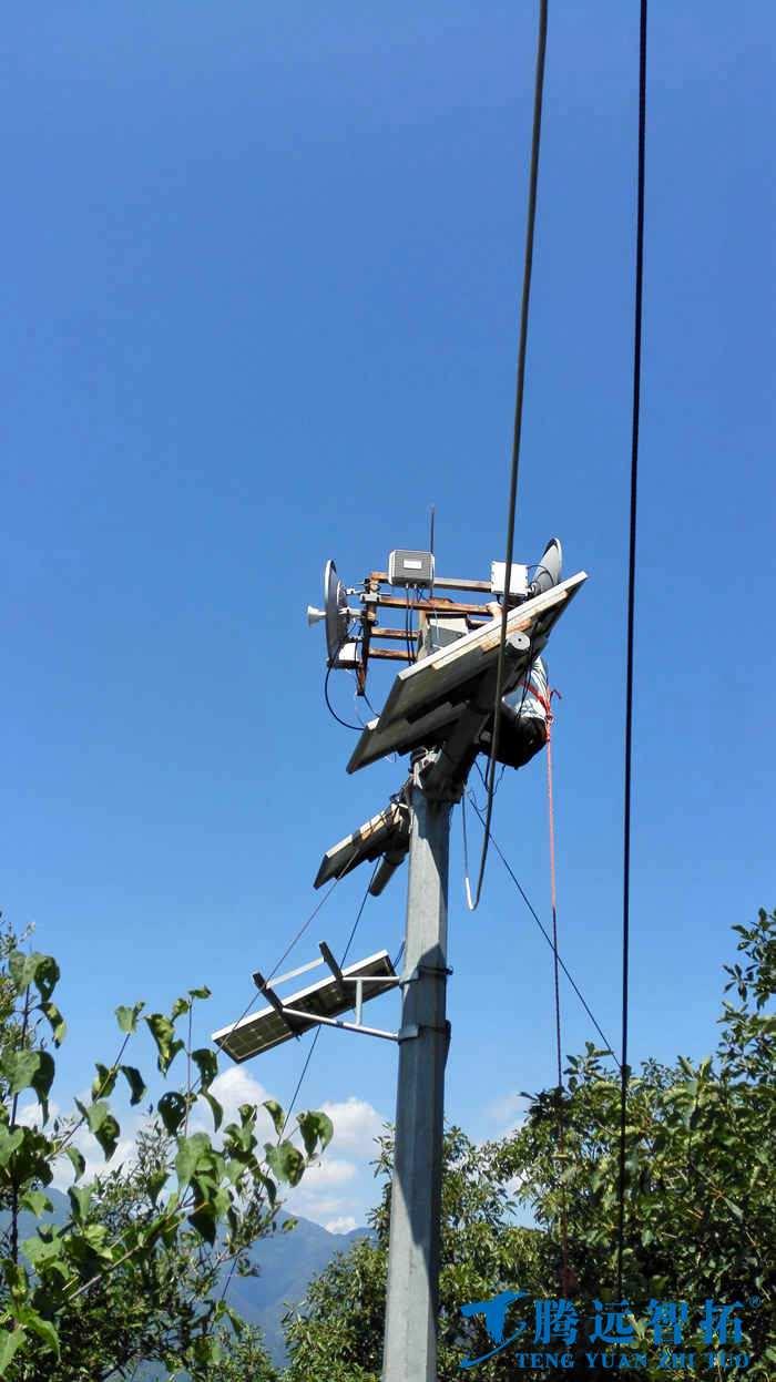 太阳能设备与无线监控设备
