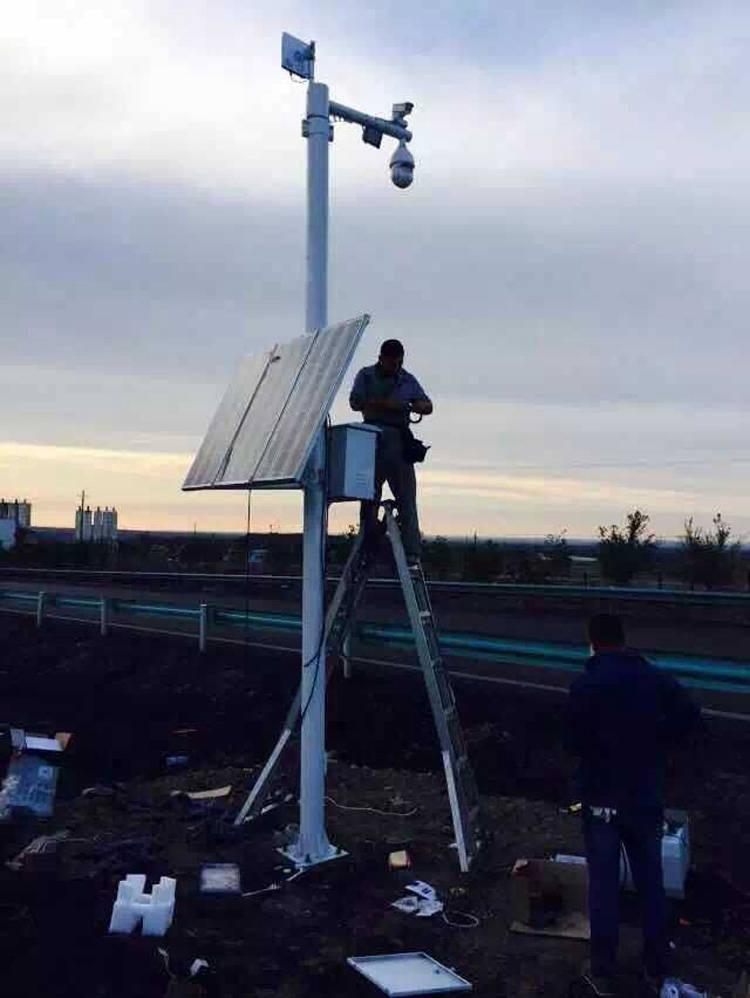 新疆乌市高速公路无线视频监控项目