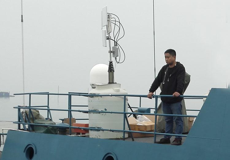 海洋船只无线监控系统工程