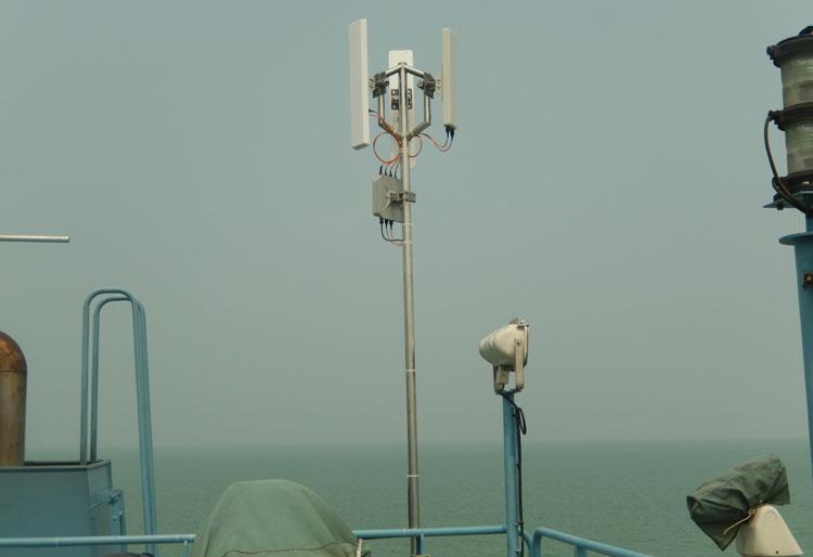 海上船舶无线监控案例