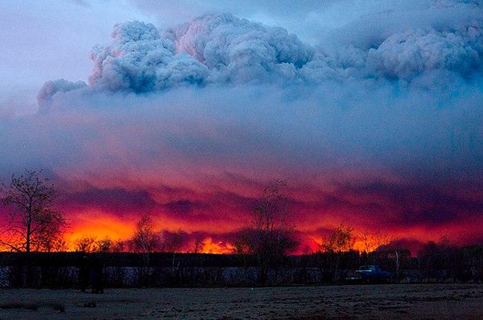 加拿大森林大火