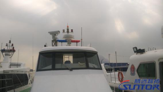 负责巡逻、调查的船只