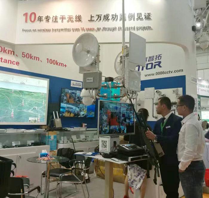 北京安博会参展设备