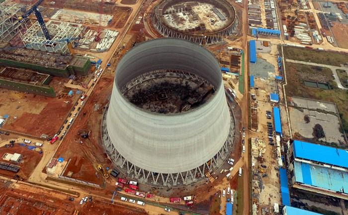 江西丰城发电厂冷却塔倒塌事故的反思—发电厂用什么