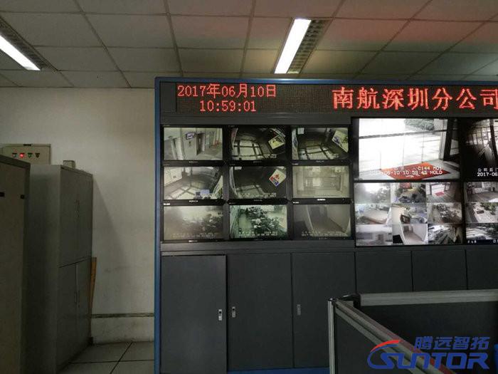 电梯监控系统现场图