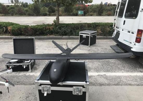 固定翼无人机监控传输设备