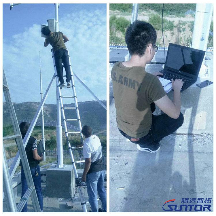无线监控系统搭建现场
