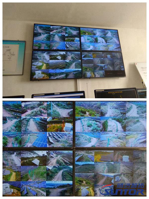 41路视频监控图像显示情况