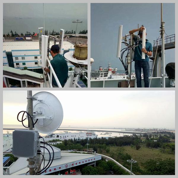 海峡渡轮无线图传测试