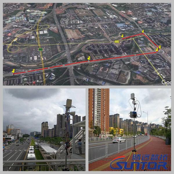 城区MESH自组网无线传输测试