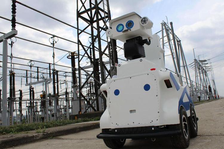 变电站巡检机器人