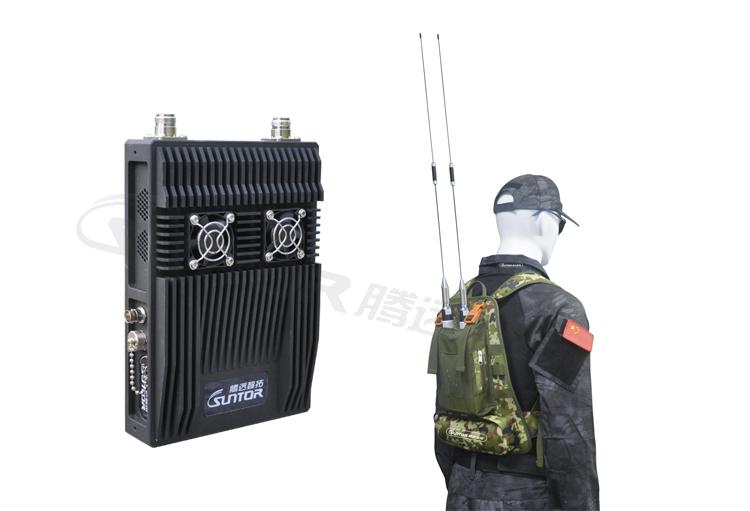 单兵型COFDM移动无线视频传输设备