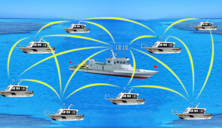 海上船舶无线传输方案