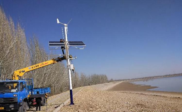 无线监控风光互补发电