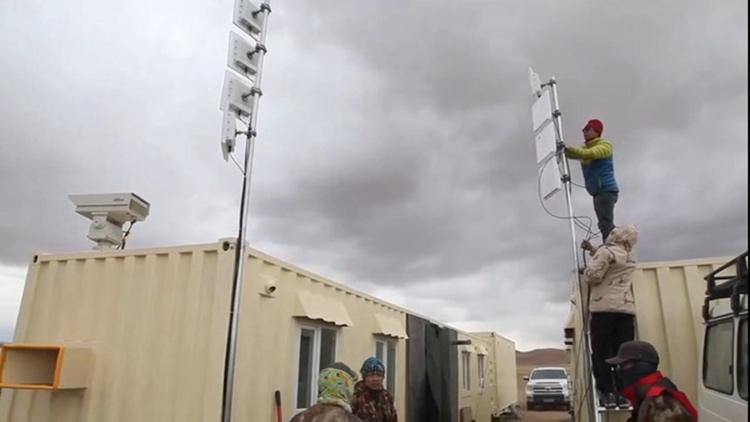 偏远地区无线监控