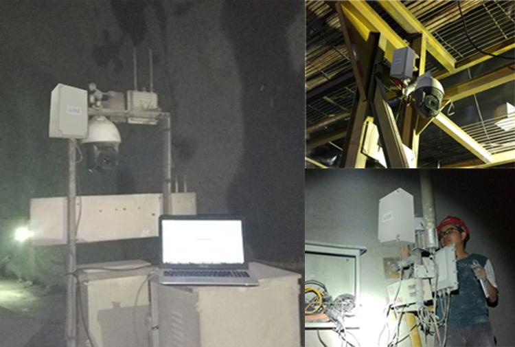 矿区隧道及化工厂区应用现场
