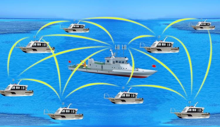 海上传输智能化组网