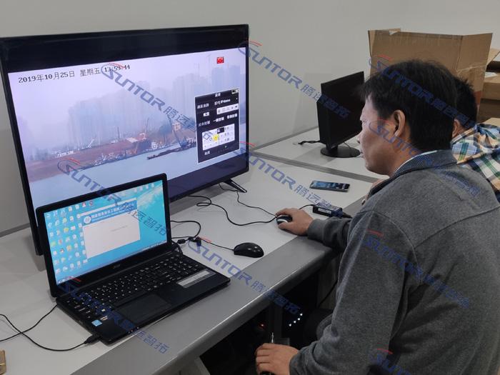 无线网桥现场调试视频效果图