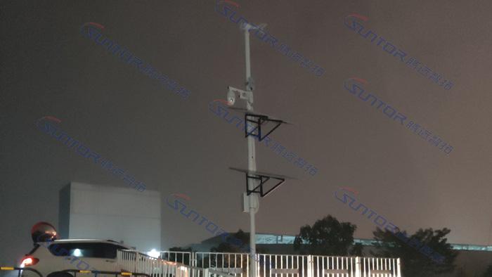 监控中心无线网桥安装现场