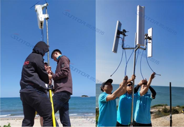 无线传输设备安装