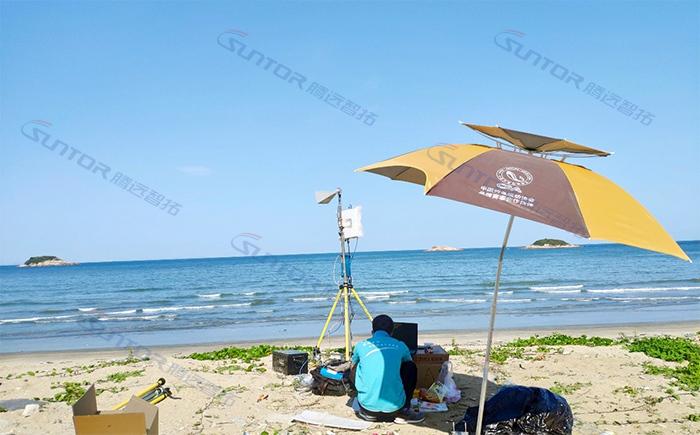 无线传输设备海边测试