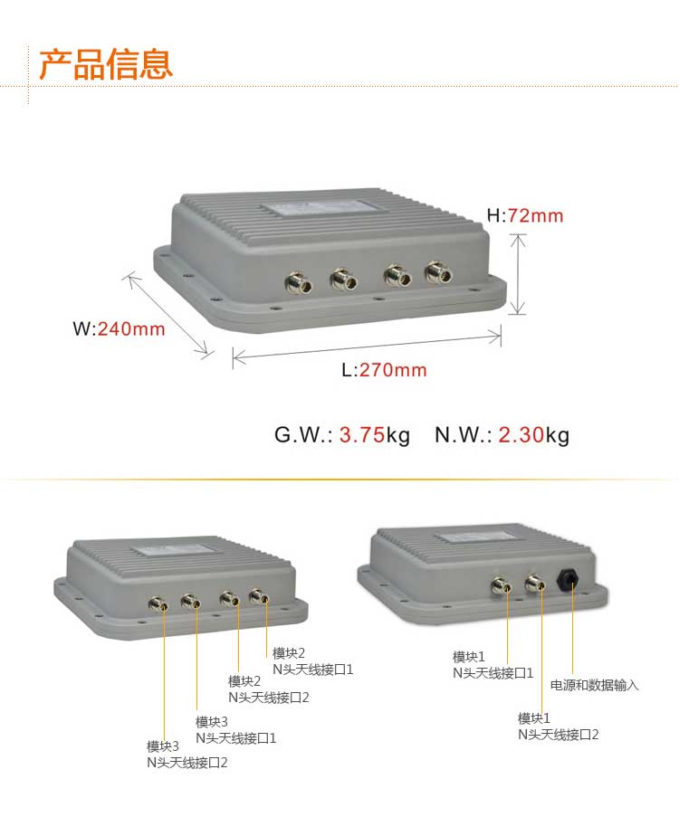 ST5801GB无线网桥介绍