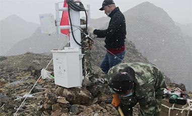 新疆北塔山23km远距离无线视频监控案例