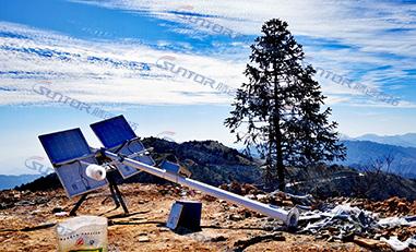 湖南省某风力发电站远程无线监控案例